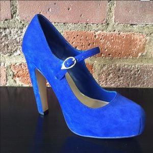 Dolce Vita Dimi Heels in Blue